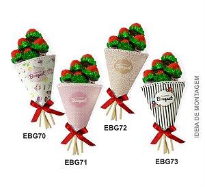 Embalagem Bouquet Gourmet c/ 10 und – Estampas – Mod.: EBG7000