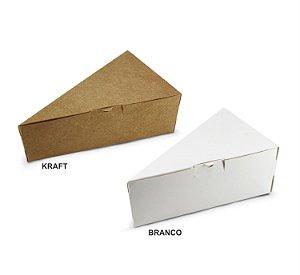 Caixa para Fatia de Bolo/Torta c/ 20 und – Liso - Mod.: CFB300