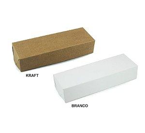 Caixa para Trio Brownie c/ 20 und - Liso - Mod.: CTB5100