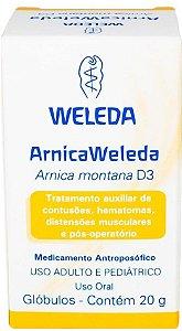 Arnica montana D3 20 g (Glóbulos)