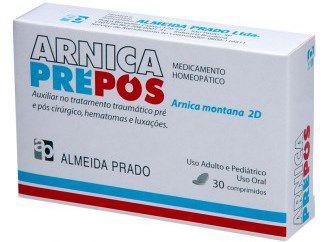 Arnica Montana 2D (PREPOS) 30 comprimidos