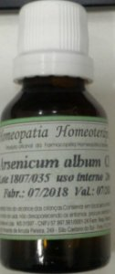Arsenicum album CH 6 20 ml