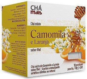 Chá Misto de Camomila e Laranja 10 Sachês