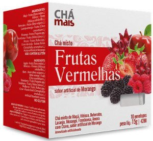 Chá Misto de Frutas Vermelhas 10 Sachês