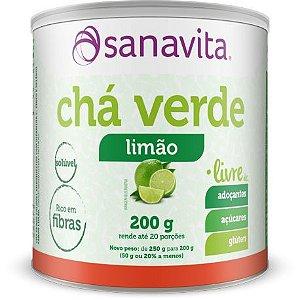 Chá Verde Sabor Limão 200 g
