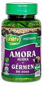 Amora Miura e Gérmen de Soja 550 mg 60 Cápsulas