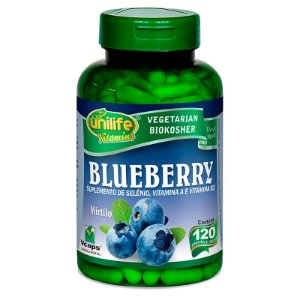 Blueberry 550 mg 120 Cápsulas