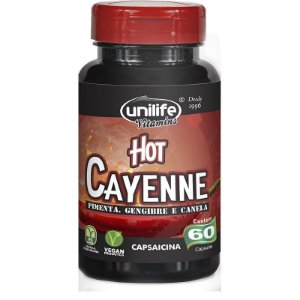 Hot Cayenne 500 mg 60 Cápsulas