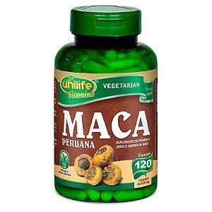 Maca Peruana com Vitamina C e Zinco 500 mg 120 Cápsulas