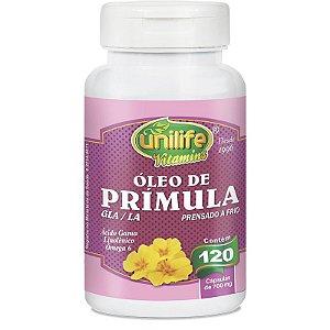 Óleo de Prímula 700 mg 120 Cápsulas