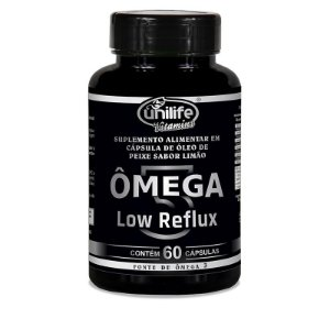 Ômega Low Reflux 1000 mg 60 Cápsulas