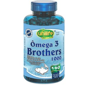 Ômega 3 Brothers 1400 mg 180 Cápsulas
