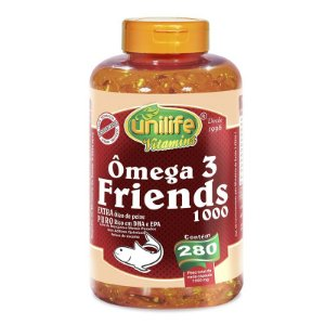 Ômega 3 Friends 1400 mg 280 Cápsulas