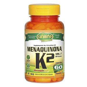 Vitamina K2 MK7 65 mcg 60 Cápsulas