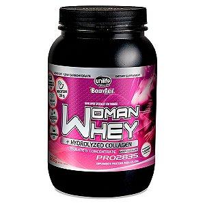Whey Woman + Colágeno Hidrolisado 900 g (Brinde Coqueteleira)