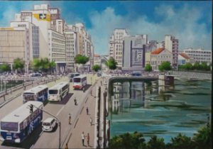 Giclée: Pontes do Recife