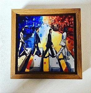 Cerâmica Emoldurada: Beatles
