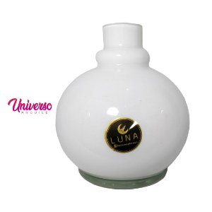 Vaso Base Jarro Luna Ball Branco