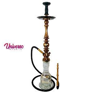 Kit Narguile Stem Mani Sultan Bronze Completo Basic