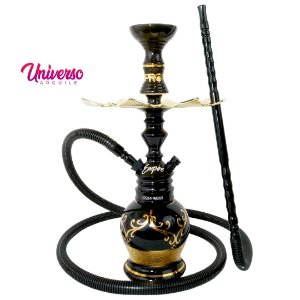 Kit Stem NARGUILE Hookah King Empire Preto Completo Premium