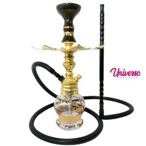 Kit Stem NARGUILE Hookah King Empire Dourado Completo Premium