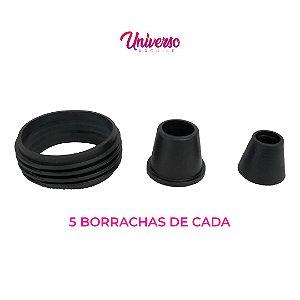 Kit Borrachas De Vedação Para Arguile Pequeno - 5 De Cada Modelo