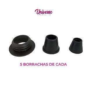 Kit Borrachas De Vedação Para Arguile Médio - 5 De Cada Modelo