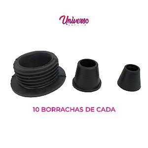 Kit Borrachas De Vedação Para Arguile Grande - 10 De Cada Modelo