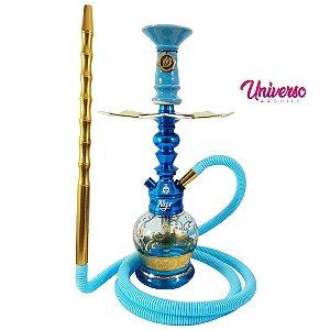 Kit Arguile Completo Nyx Gods of Hookah Azul Boho