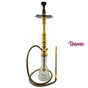 Kit Arguile Completo Mani Sultan Dourado