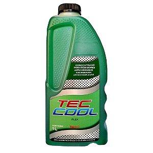 Aditivo Radiador Tec Cool 1 Litro Anticorrosivo Organico Verde Tecbril - 803360 VD 1LT