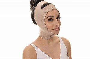 Cinta Faixa Facial Mentoneira Pós-Cirúrgica Lifting Bichectomia Lipo - New Form