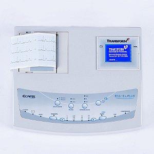 Eletrocardiógrafo ECG-12S Plus - Ecafix Funbec