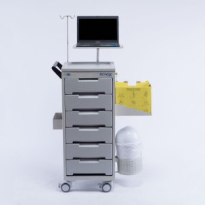 Carro para Medicamentos/Instrumentos CP-500 - Ecafix Funbec