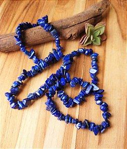 Pulseira de Lápis Lazuli - Cascalho
