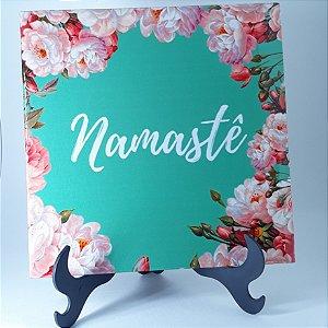 """Azulejo Decorativo """"Namastê"""""""