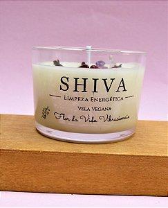 Vela  vegetal Shiva - Limpeza energética