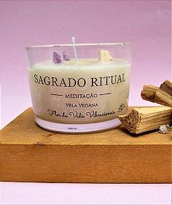 Vela vegetal Sagrado Ritual - Meditação
