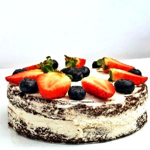 Torta de Chocolate Vegana FIT