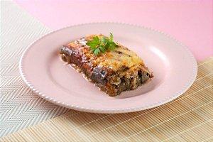 MarmiFit - Lasanha de Berinjela a Bolonhesa com queijo lacfree