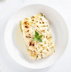 MarmiFit - Lasanha de Abobrinha ao molho branco c/ frango e queijo lacfree - 400g