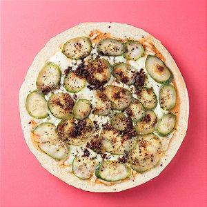Pizza de Abobrinha com Alho Crocante - 300g/25cm