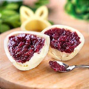 Ovo de Colher de Cheesecake de Frutas Vermelhas - 250g