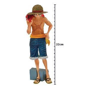 Action Figure - Figure One Piece - Monkey D. Luffy - Magazine - Banpresto