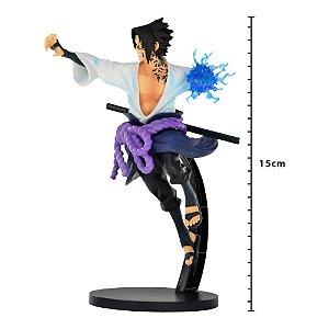 Action Figure - Figure Naruto Shippuden - Sasuke Uchiha - Vibration Stars - Banpresto