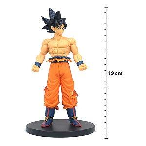 Action Figure - Figure Dragon Ball Super - Goku Instinto Superior Incompleto - Creator X Creator Ver. A - Banpresto