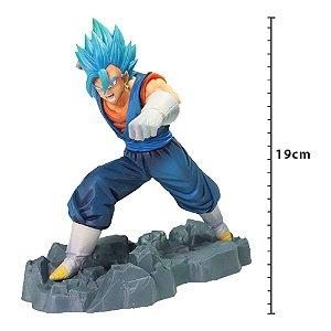 Action Figure - Figure Dragon Ball Super - Vegetto Super Sayajin Blue - Dokkan Battle - Banpresto