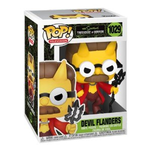 Funko Pop! Television: The Simpsons - Treehouse Of Horror - Devil Flanders