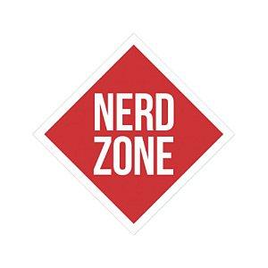 Placa De Parede - Nerd Zone