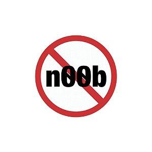 Placa De Parede - Noob
